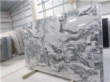 Wiskon White Slabs & Tiles, Viskont White Granite Slabs