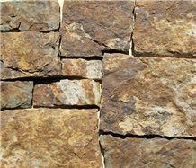 Farmers Blend Split Thin Stone Veneer, Farmers Sandstone Thin Stone Veneer