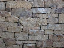 Sierra Madre Buff Stone Dry Wall