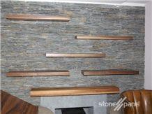 Black Slate Stone Panel - Laja Negra