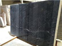 Black Marble Slabs, Negro Ruivina Marble