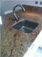 Sivakasi Pink Granite Kitchen Countertops