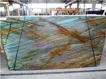 Acquarama Quartzite, New Blue Louise
