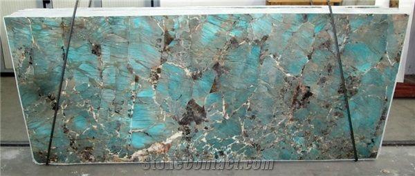 Amazzonite Slabs Amazonita Granite Slabs Tiles From Italy