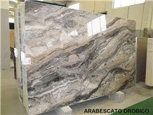 Arabescato Orobico Grigio Marble Slabs, Arabescato Grigio Rosa Italy Grey Marble