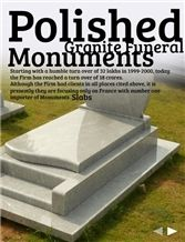Funeral Monuments and Specialized Monuments