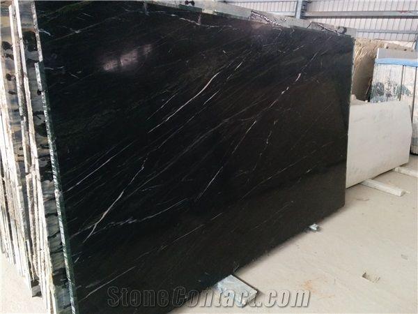 Black Emerald Polish Soapstone Slab