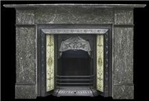 Late Victorian St Anne Marble Fireplace
