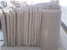China Beige Granite Columns,Column Tops and Bases