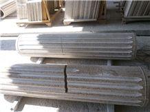 China Beige Granite Columns,Columns Bases and Tops