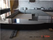 China Absolutely Black Granite Tombstone,Shanxi Black Granite Western Style Monuments