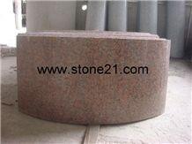 G562 Granite Column,China Red Granite Column,G562 Granite