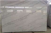 China Popular Cheap Guangxi White Marble Slabs, Tiles, White Marble with Grey Lines, Natural Building Stone Flooring,Feature Wall,Clading,Decoration Quarry Owner