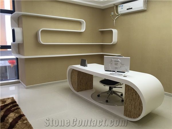 Home U003eu003e Furniture U003eu003e Modern Elegant Office Furniture Top Qaulity Office  Desk White Executive Office Desk