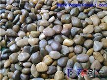 Polished Pebble Stone, Pebble Walkway, River Stone, Mixed Pebble Stone
