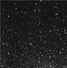 Black Galaxy Granite Tiles & Slabs, Polished Granite Floor Tiles, Wall Tiles