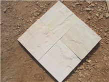 Mint White Sandstone Slabs & Tiles
