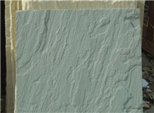 Pista Green Sandstone Paving Tiles/Slabs