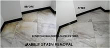 Marble Stone Restoration and Stain Removal