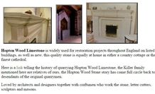 Hopton Wood Limestone Fireplaces