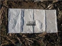 White Quartzite Mushroom Wall Cladding
