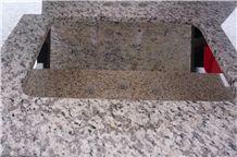 Tiger Skin White Granite Vanity-Tops & Counter Tops, Bathroom/Kitchen/Washroom Usage