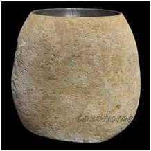 Solid River Stone Sink - Pedestal Stone Sink Producer Looking for Wholesale Distributors