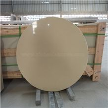 China Beige Quartz Table Top, Work Top
