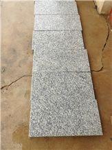 New G603 Granite, Chinese Grey Granite Slabs & Tilesg603 Light Grey Polished&Flamed Granite Tile,Padang Light,Sesame White,Padang White,Bianco Amoy,Bianco Crystal,China Grey Granite Tiles