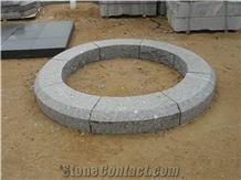 New G603 Granite Garden Stone Circle