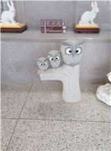 Nature Stone Carving Animal Statue Sculpture