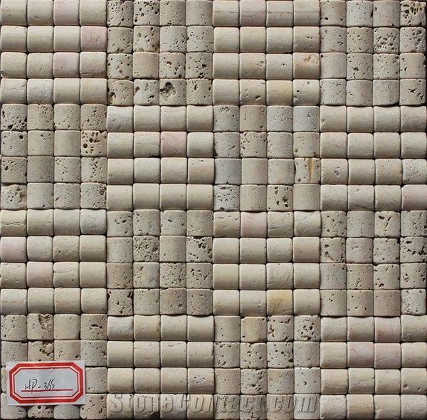 Travertine Mosaic Manufacture China Hp