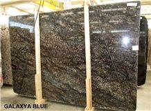 Galaxia Blue Granite Slabs, Brazil Brown Granite
