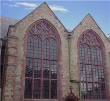 Holy Trinity, Blackpool, St Bees Sandstone Window Surround and Masonry