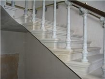 Staircase with Yorkstone St Georges Hall, Liverpool
