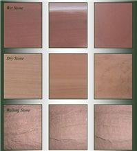Beestone Sandstone-St Bees Red Sandstone Natural Variation
