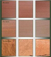 Bowscar Red Lazonby Sandstone Natural Variation