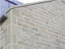 Blagdon Sandstone Split Face Wall Cladding