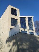 Doddington Sandstone Facade Contemporary New Build