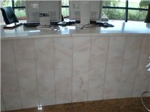 Bianco Rosa Marble Desk Top