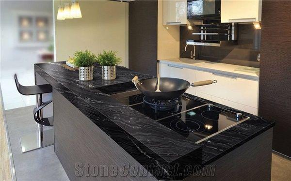 Agata Granite Kitchen Countertop From Brazil