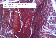 Eretria Red Marble Slabs, Tiles