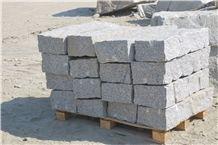 Strzegom Zimnik Granite Cobble Stone
