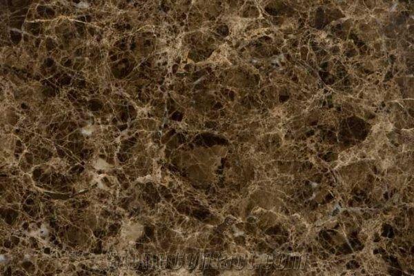 Dark Emperador Marron Imperial Marble Slabs Tiles From