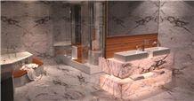 Iceberg Quartzite Bathroom Design