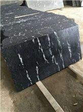 Snow Grey Granite Tiles&Slabs, China Via Lactea Granite,China Grey Granite