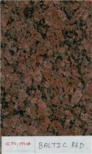 Baltic Red Slabs & Tiles, India Brown Granite