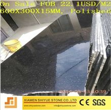 India Nero Black Star Gold Galaxy Granite Polished Slab Floor Tiles, Natural Stone, Wall Cladding Panels, Versailles Pattern, Skirting, Interior Decoration Building, China Manufactory Supplier