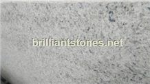 Kashmir White Granite Slab(Semi-Slab), India White Granite