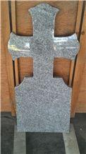 Grey Granite Cross Tombstone ,Sadharhalli Grey Granite,India Grey Granite, Sadar Ali Grey Granite Monument & Tombstone